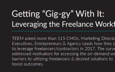 """Getting """"Gig-gy"""" With It: Leveraging the Freelance Workforce"""